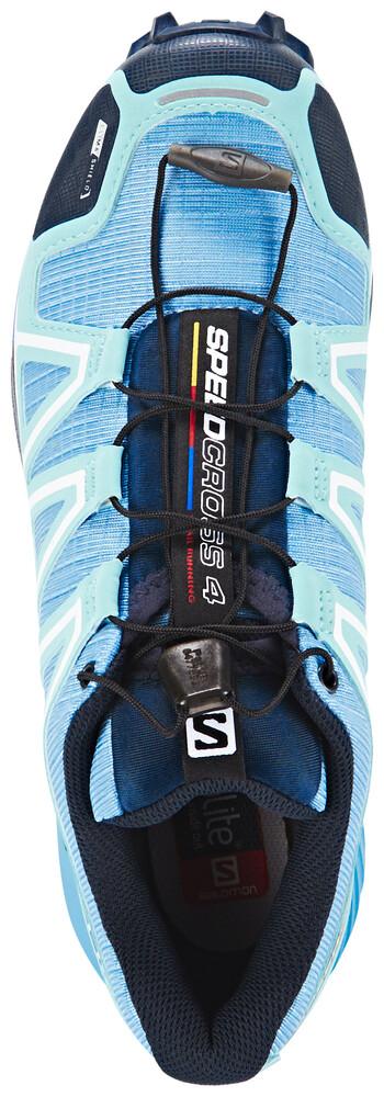 Bleu Salomon De 4 Speedcross Chaussures Boutique Cs Running ww6vzYq